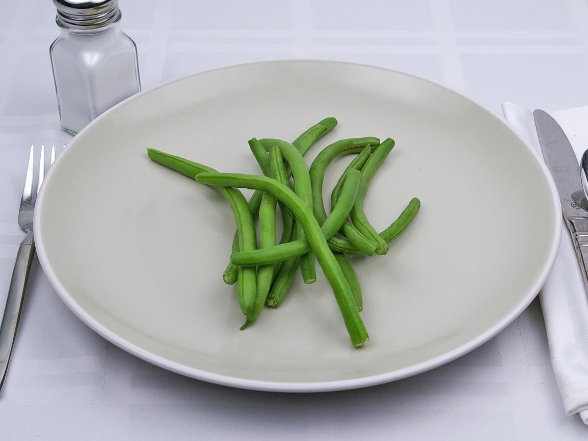 Calories in 170 grams of Green Beans - Fresh