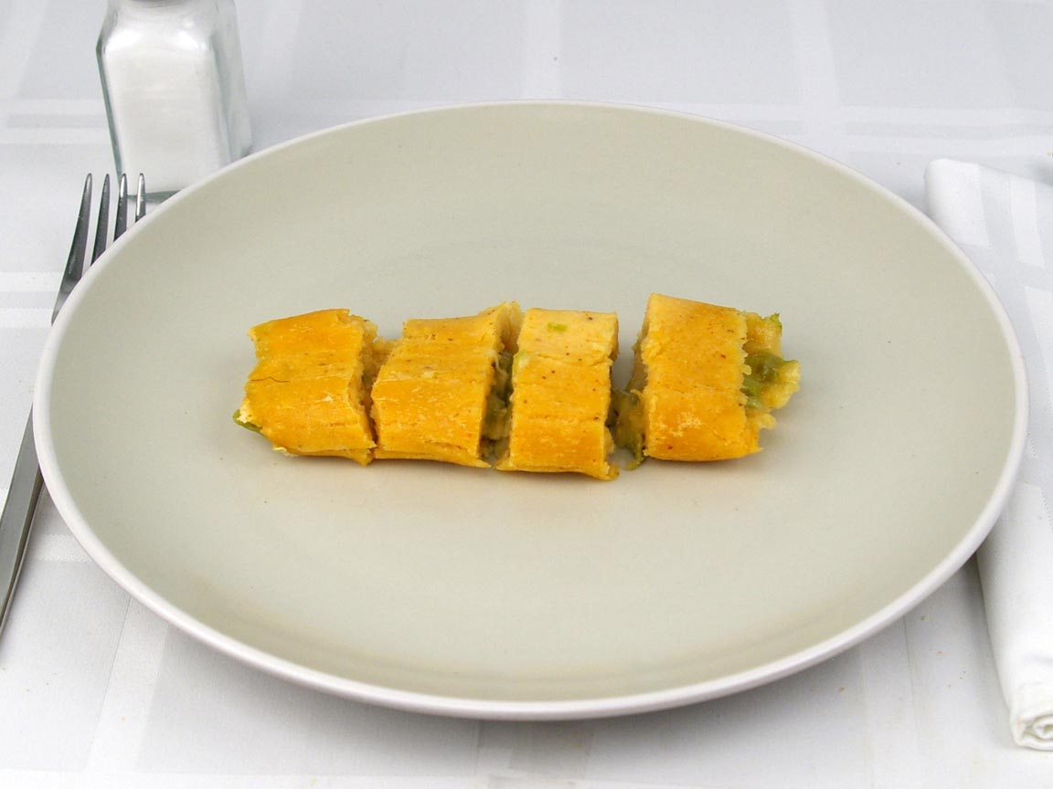 Calories in 1 tamale(s) of Cheese & Green Chile Tamales