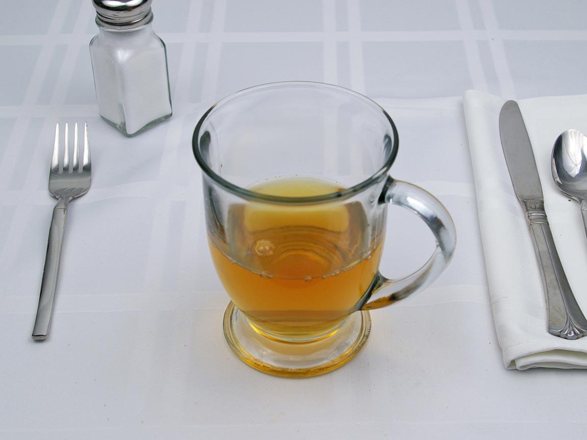 Calories in 8 fl oz(s) of Green Tea