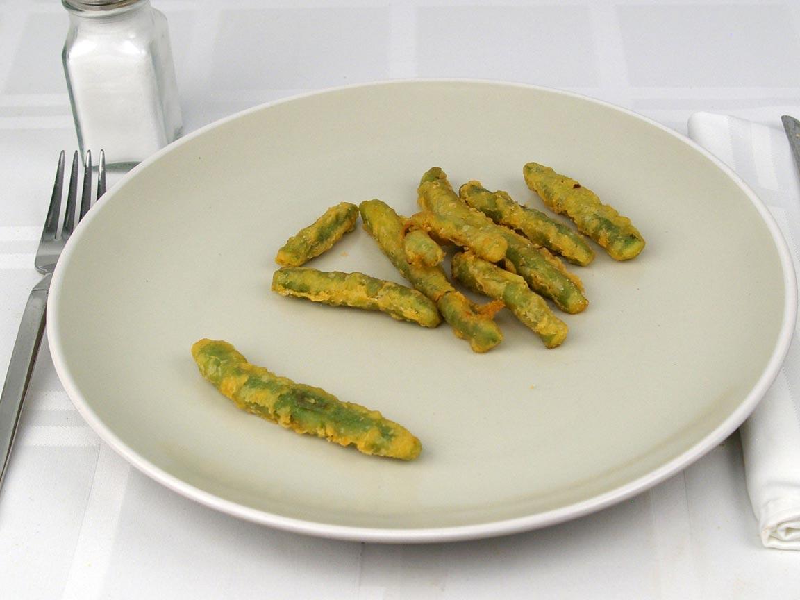 Calories in 56 grams of The Habit - Tempura Fried Green Beans