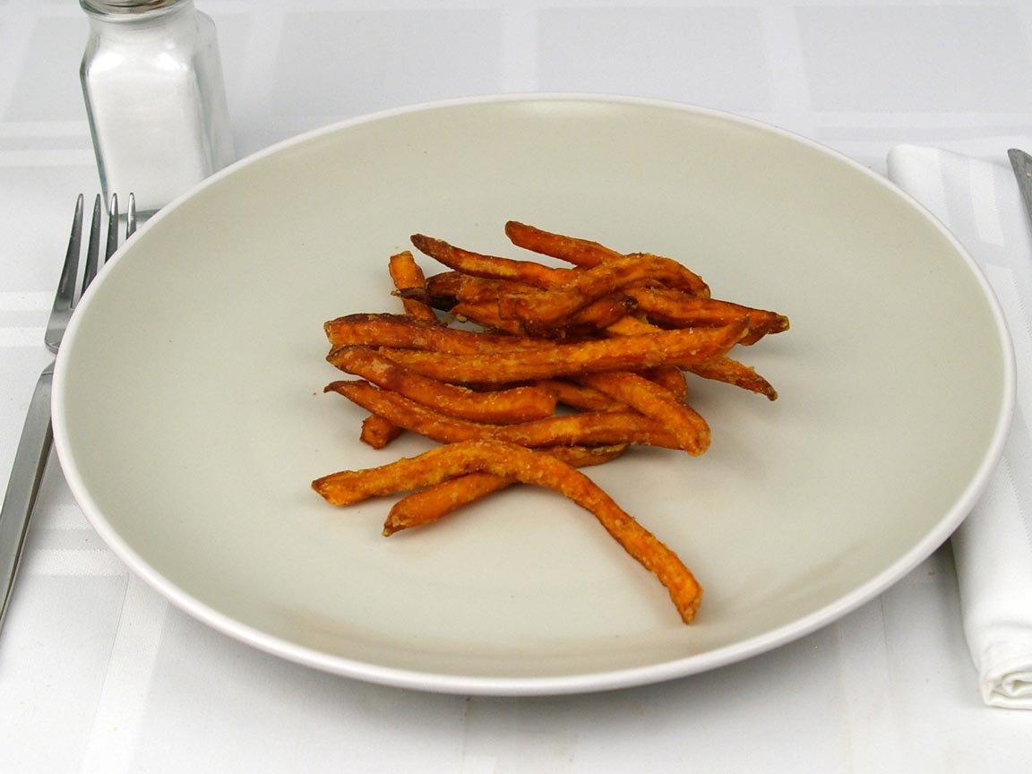 Calories in 56 grams of The Habit - Sweet Potato Fries