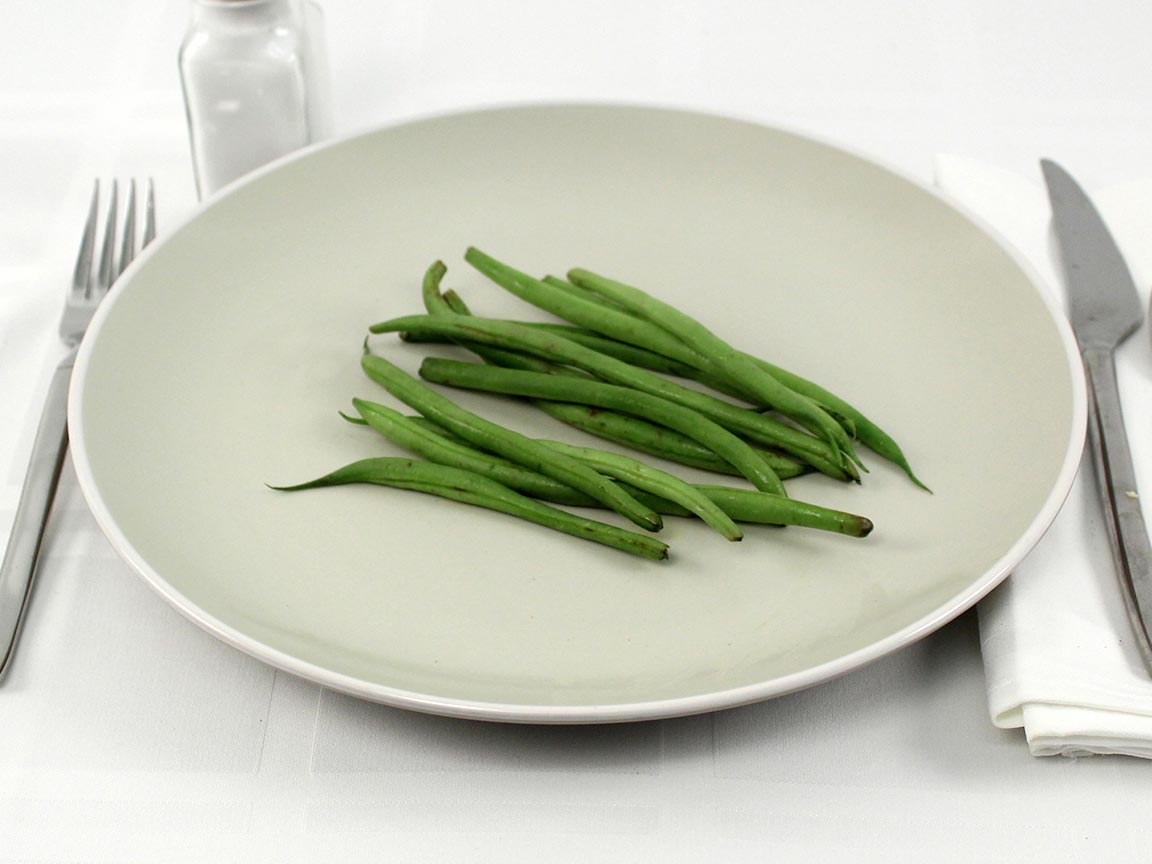Calories in 42 grams of Haricot Verts - French Green Beans