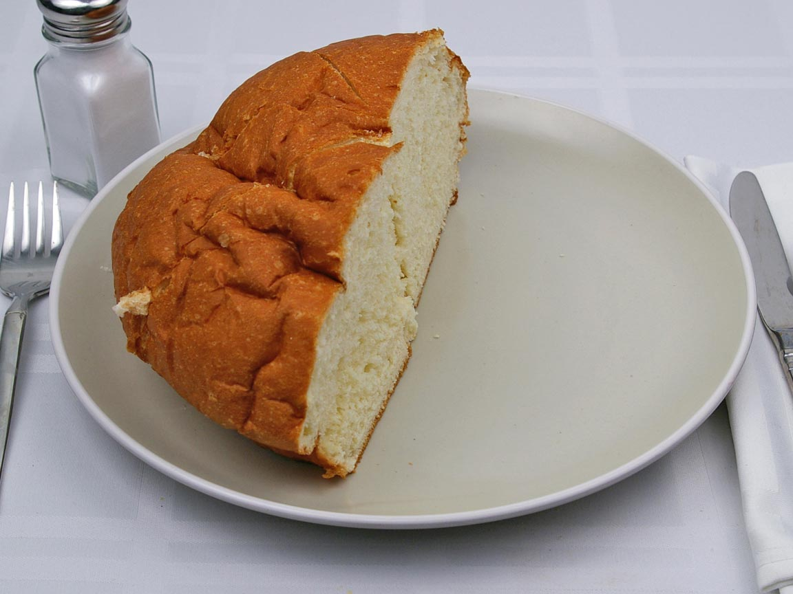 Calories in 4 piece(s) of Sweet Hawaiian Bread - Round Loaf