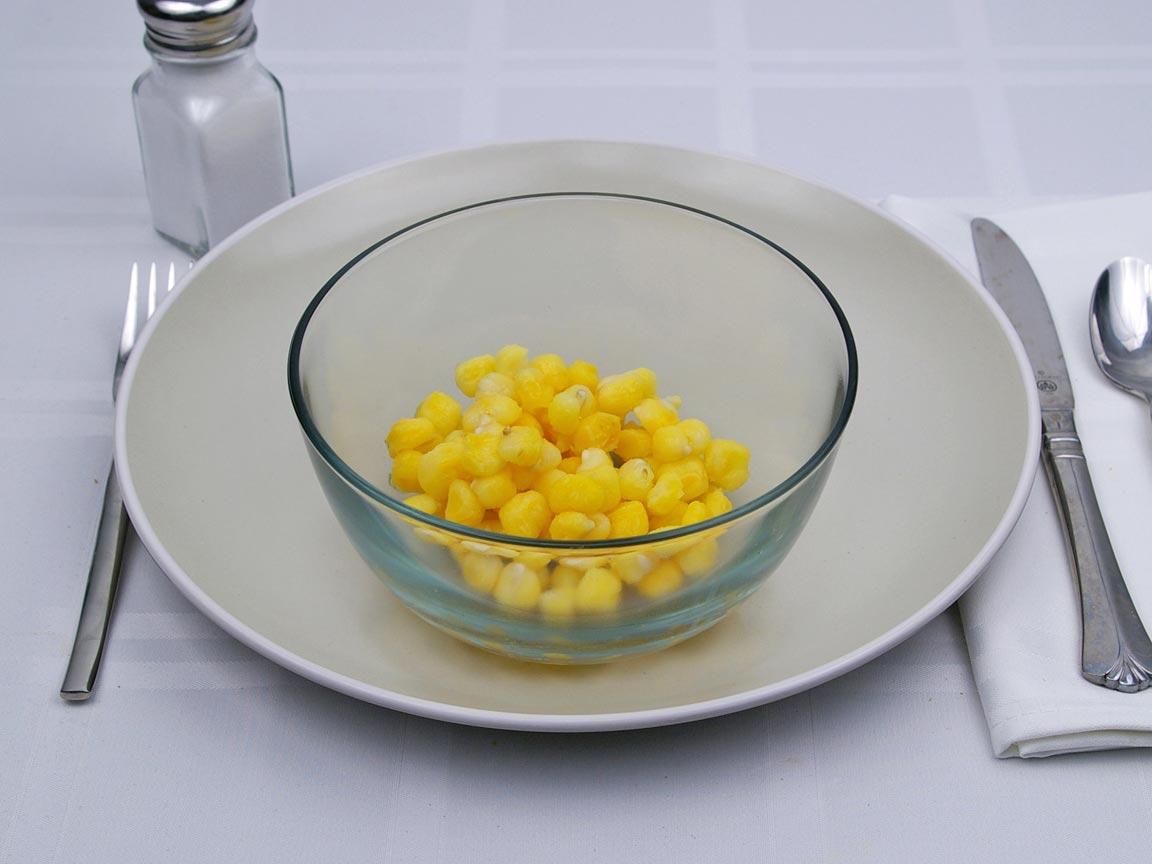 Calories in 0.75 cup(s) of Hominy -Golden
