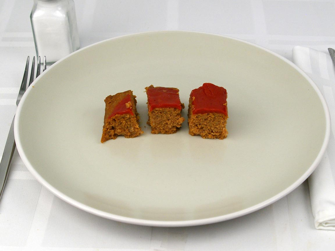Calories in 85 grams of Hormel - Meatloaf