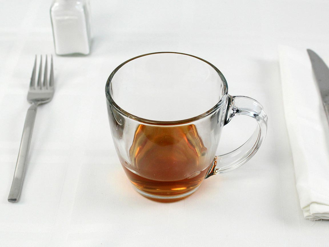 Calories in 0.5 envelope(s) of Hot Apple Cider - 6 fl oz water added