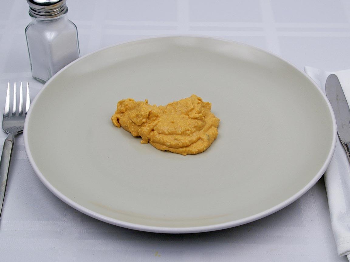 Calories in 4 Tbsp(s) of Hummus