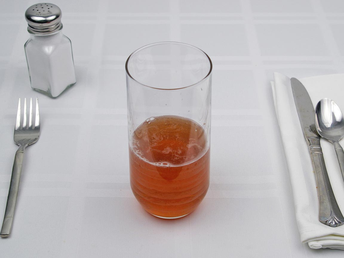 Calories in 8 fl oz(s) of Iced Tea - Sweetened