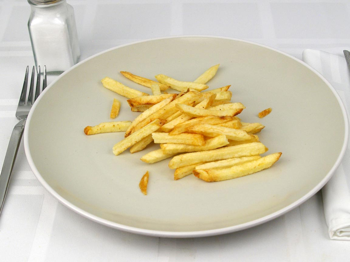 Calories in 56 grams of In-N-Out Fries