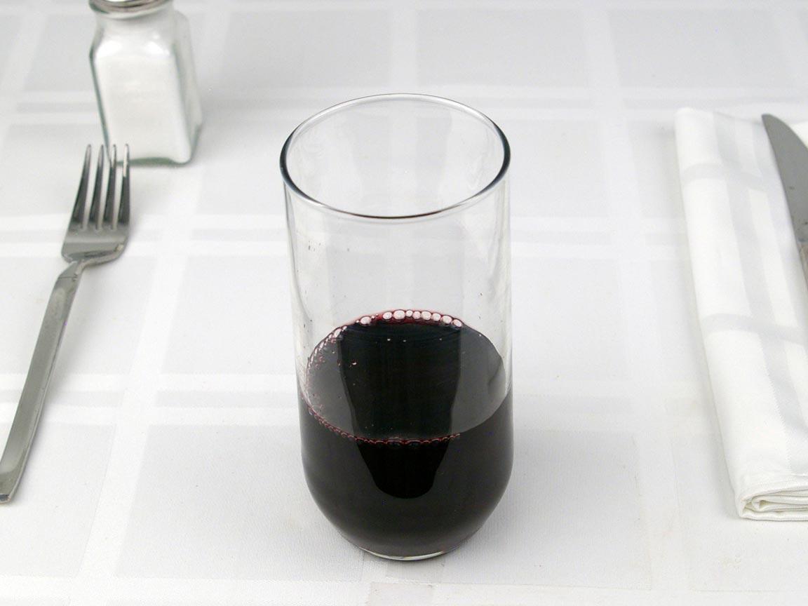 Calories in 0.75 fl cup(s) of Cherry Juice
