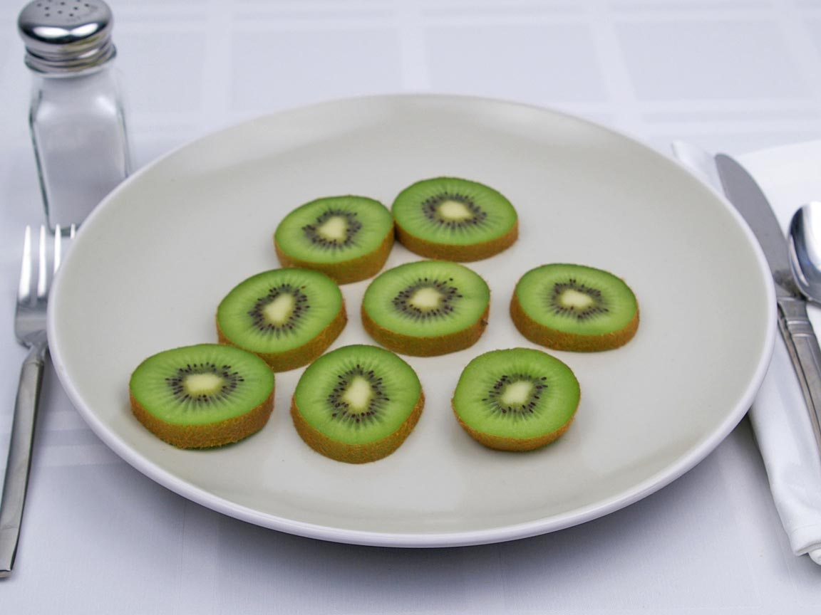 Calories in 1.39 kiwi(s) of Kiwi