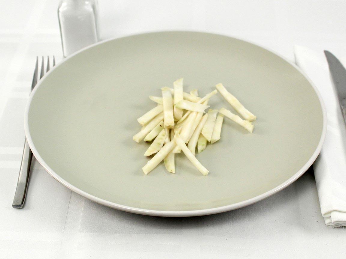 Calories in 30 grams of Kohlrabi - Raw
