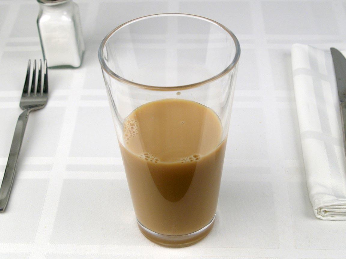 Calories in 0.63 grande of Starbucks Latte Nonfat - Grande/Venti
