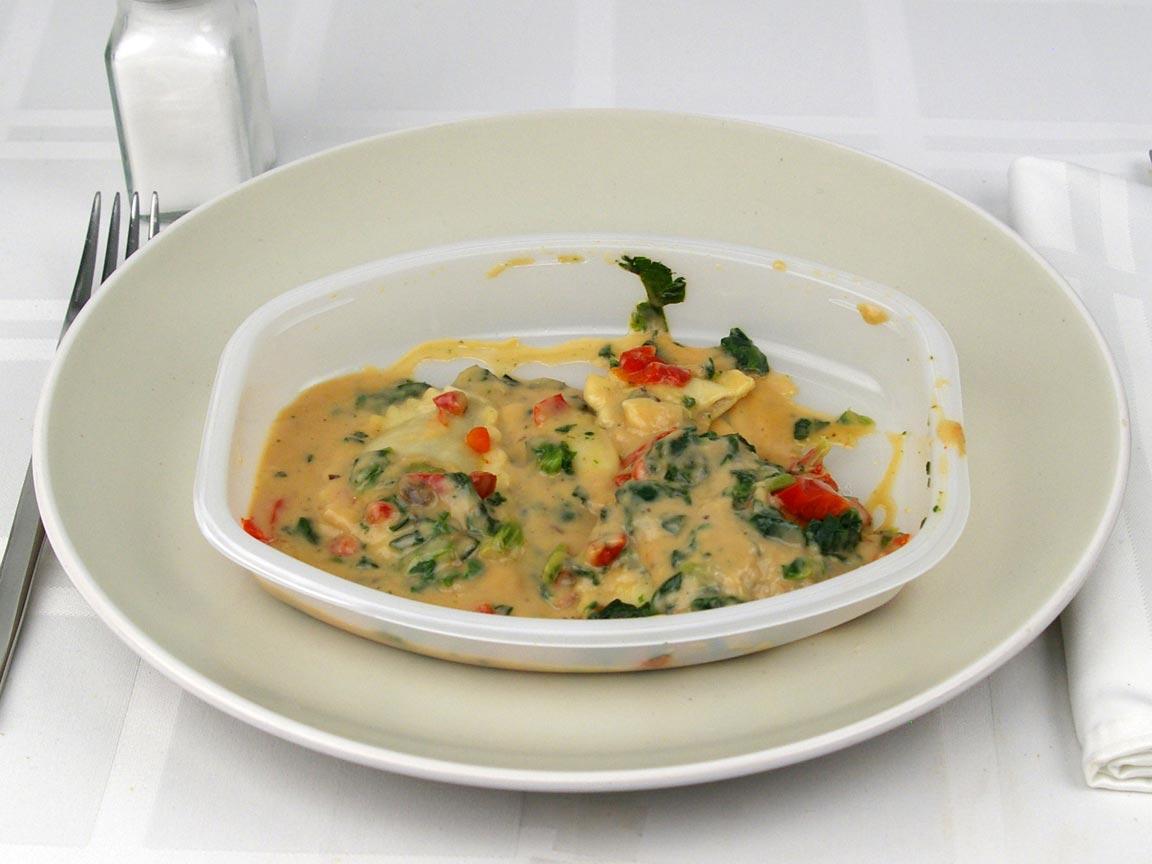 Calories in 0.5 package(s) of Lean Cuisine Mushroom Ravioli
