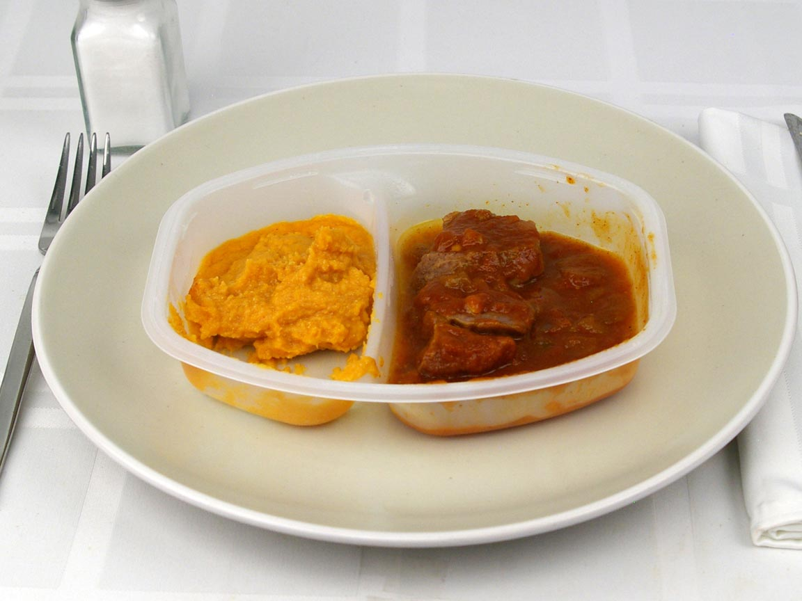 Calories in 0.67 package(s) of Lean Cuisine - Ranchero Braised Beef