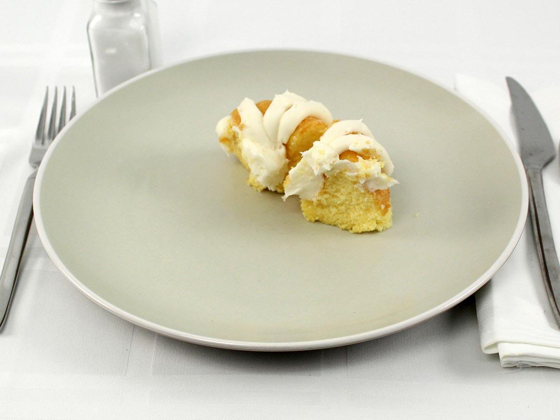 Calories in 0.5 bundt(s) of Lemon Bundt Cake