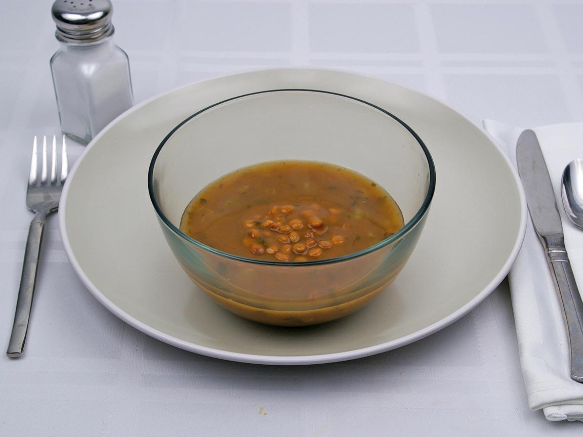 Calories in 1 cup(s) of Lentil Soup
