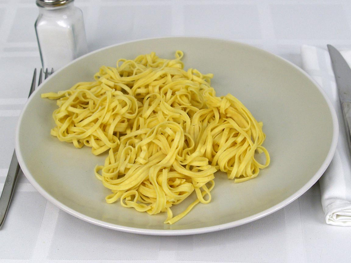 Calories In 141 Grams Of Linguine Fresh Pasta