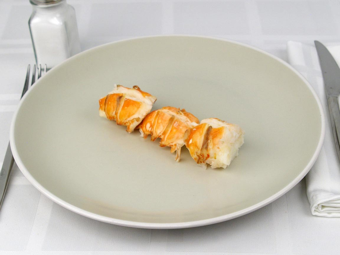 Calories in 85 grams of Lobster Tail