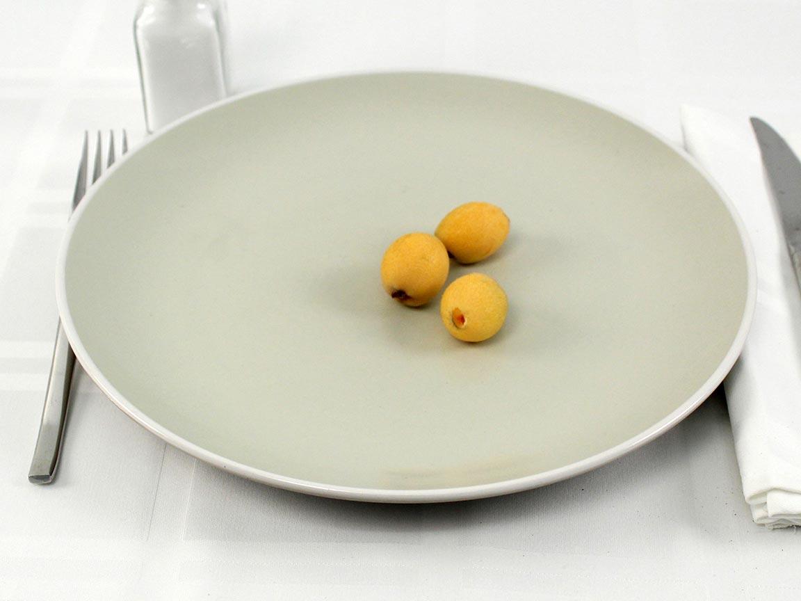 Calories in 3 loquat(s) of Loquats - raw