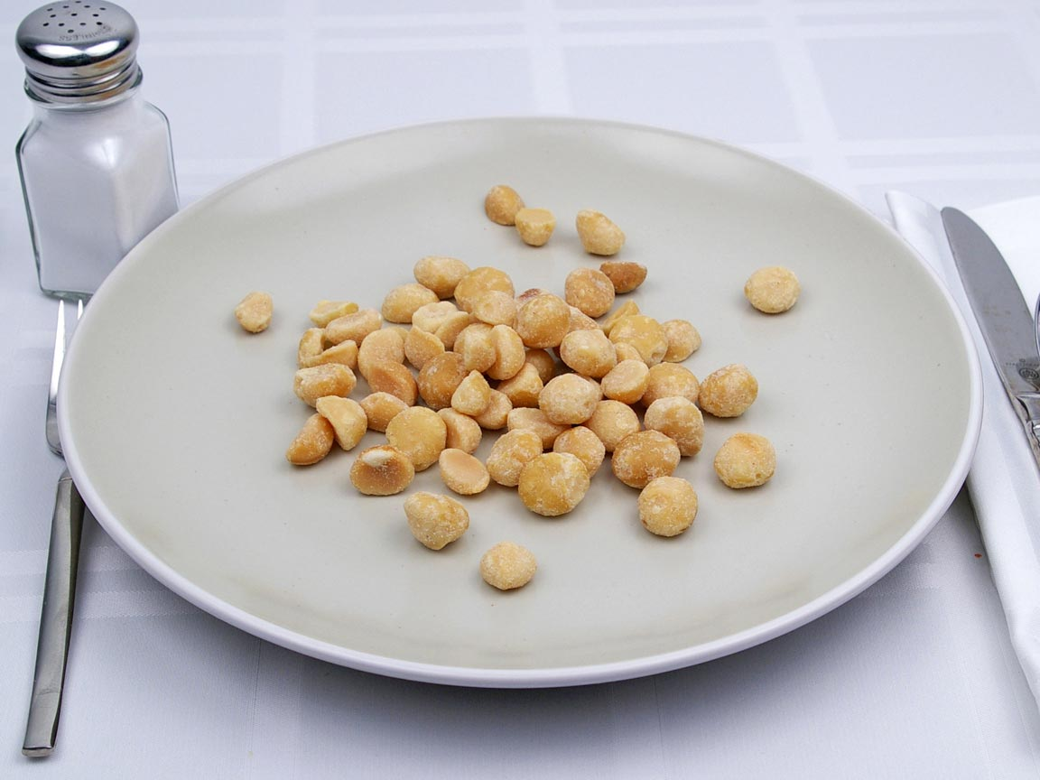 Calories in 99 grams of Macadamia Nuts