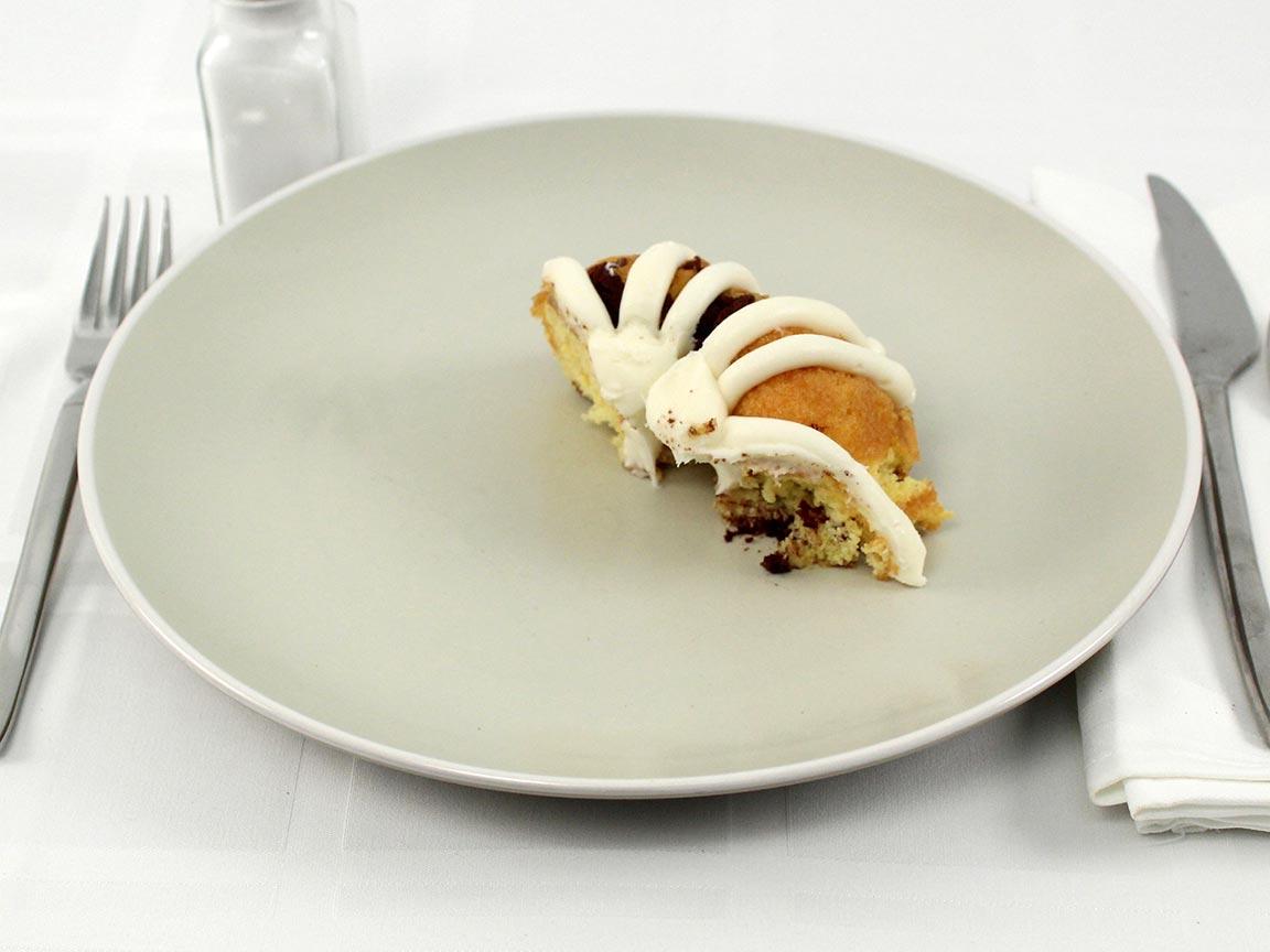 Calories in 0.5 bundt(s) of Marble Bundt Cake