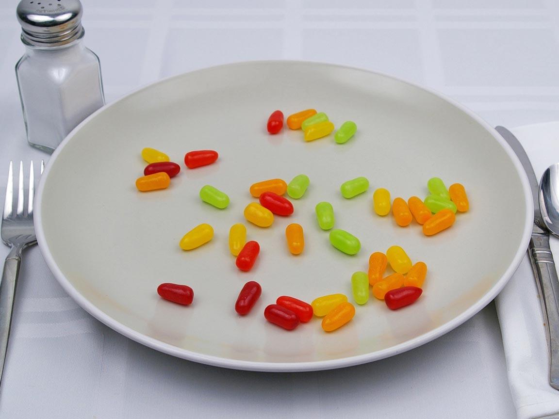 Calories in 56 grams of Mike & Ike