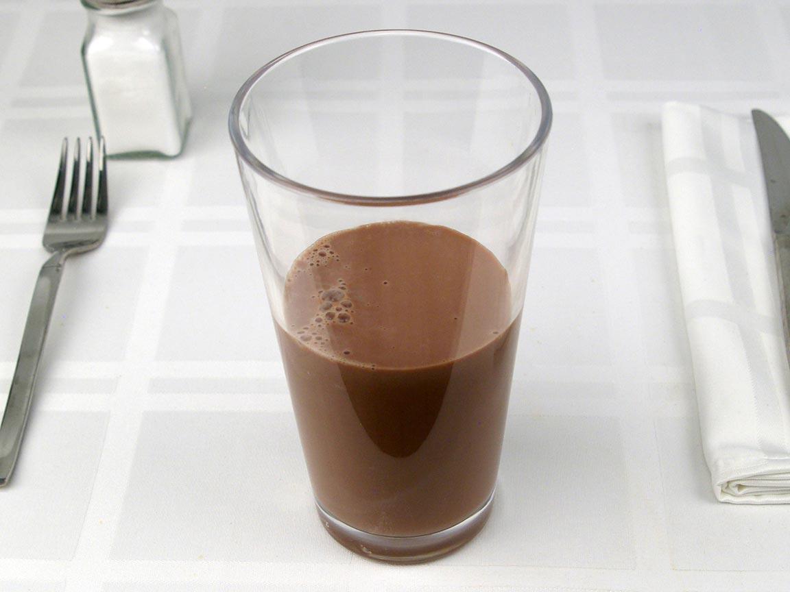 Calories in 0.63 grande of Starbucks Mocha Latte 2% Milk - Grande