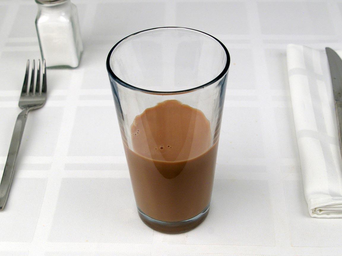 Calories in 0.75 short of Starbucks Mocha Latte 2% - Short/Tall