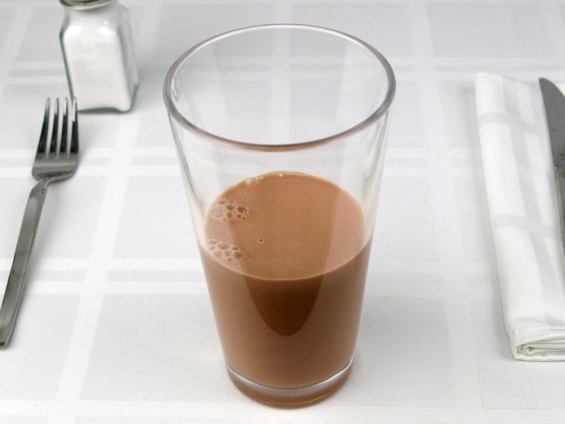 Calories in 0.5 venti of Starbucks Mocha Latte Whole Milk - Grande/Venti