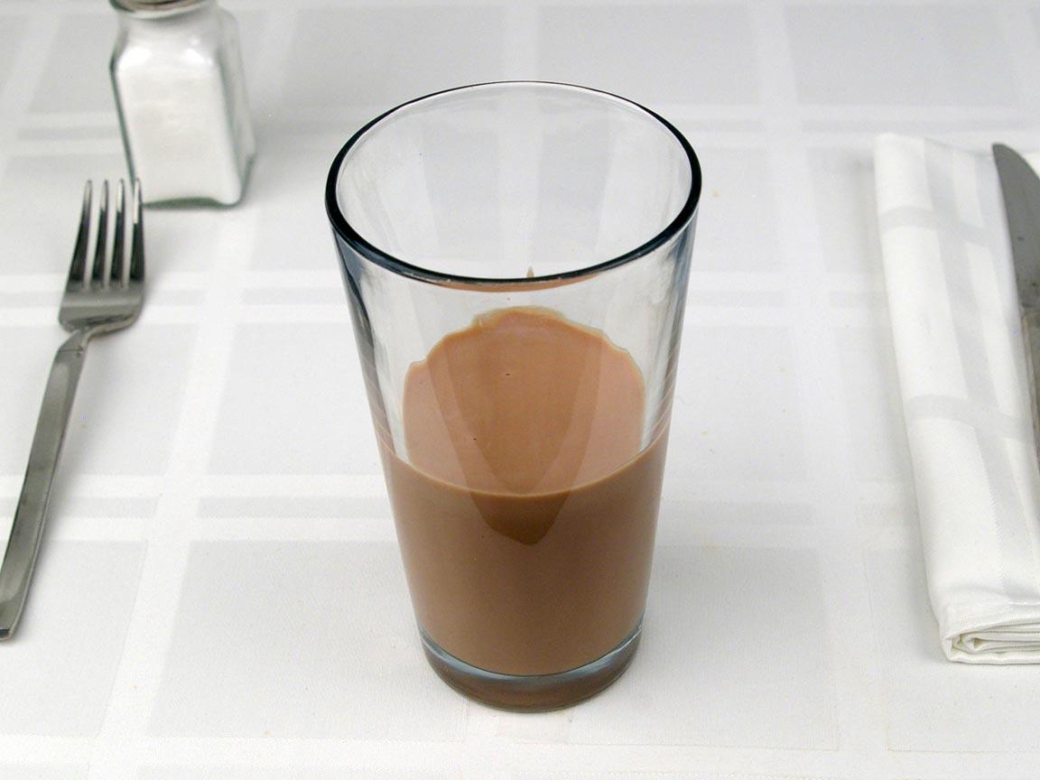 Calories in 0.75 short of Starbucks Mocha Latte Whole - Short/Tall