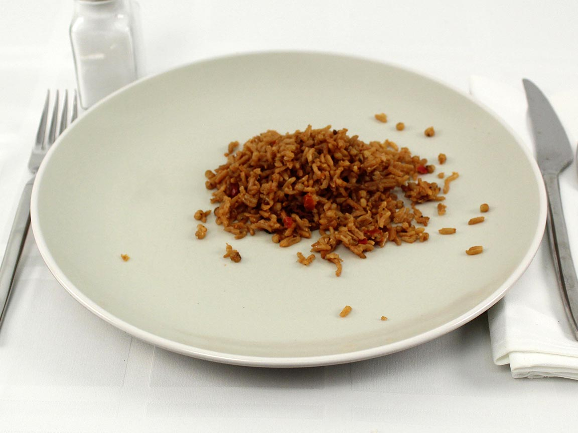 Calories in 0.5 cup(s) of Moroccan Rice Pilaf