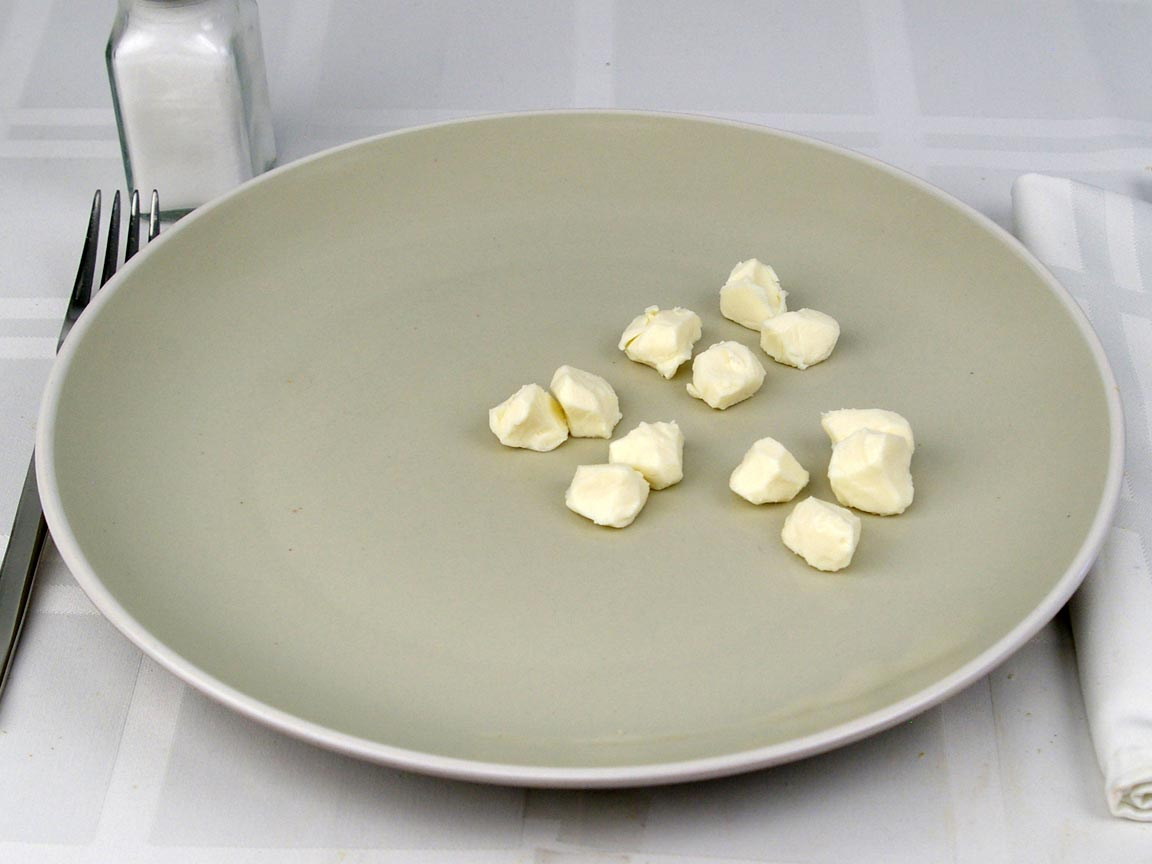 Calories in 3 piece(s) of Mozzarella Cheese Pearls