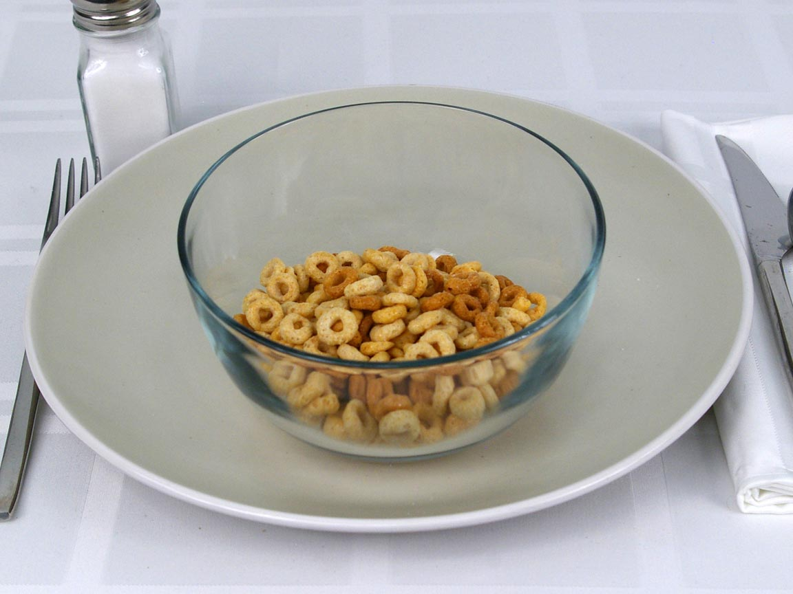 Calories in 1 cup(s) of Cheerios Cereal - Multi Grain