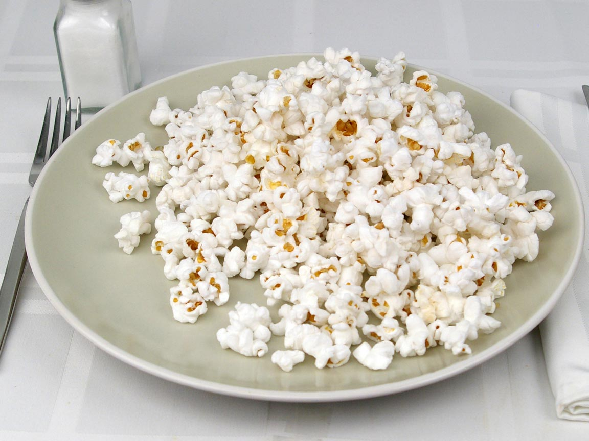 Calories in 28 grams of Nearly Naked Popcorn