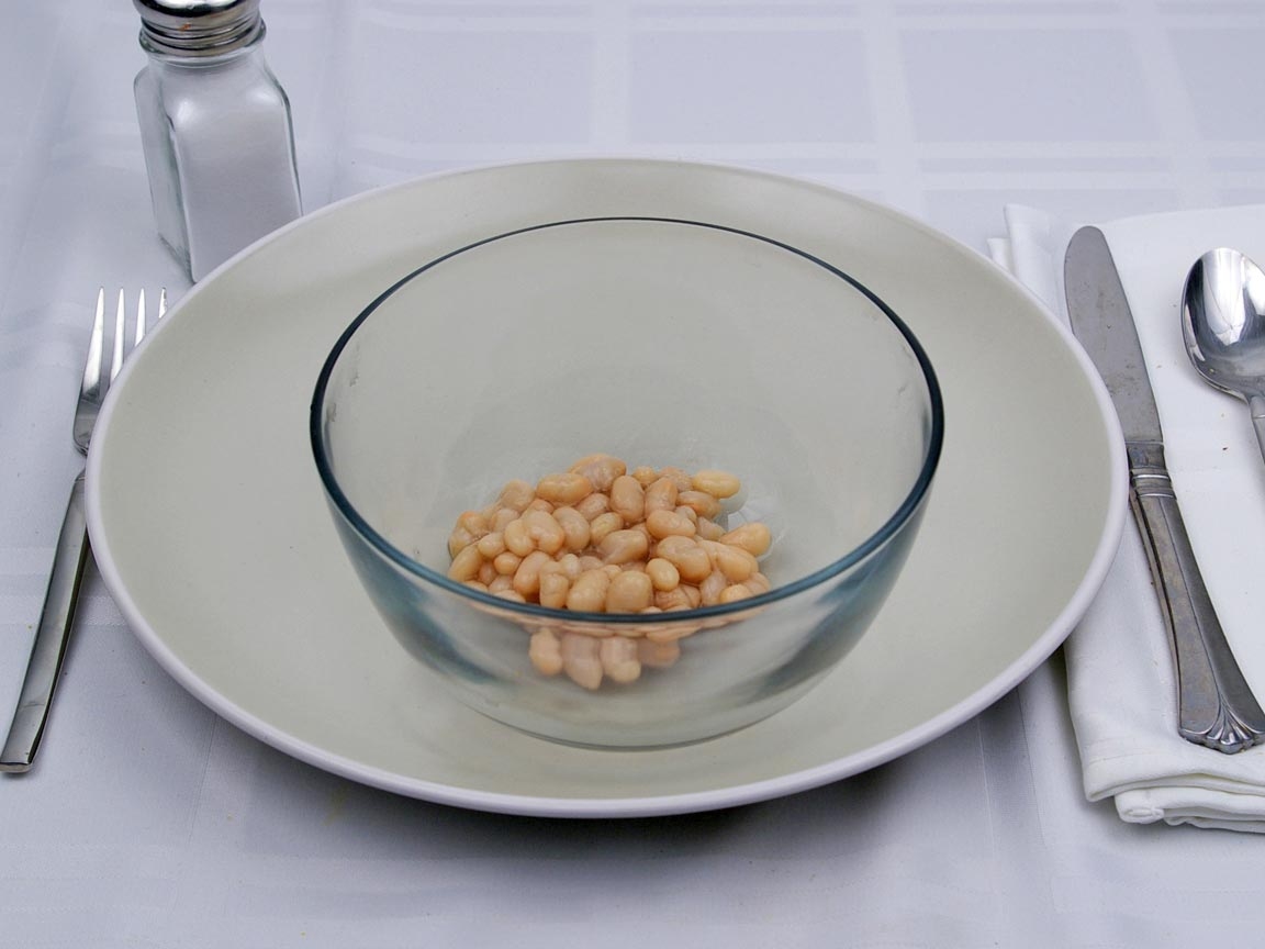 Calories in 0.75 cup(s) of Navy Beans - Canned