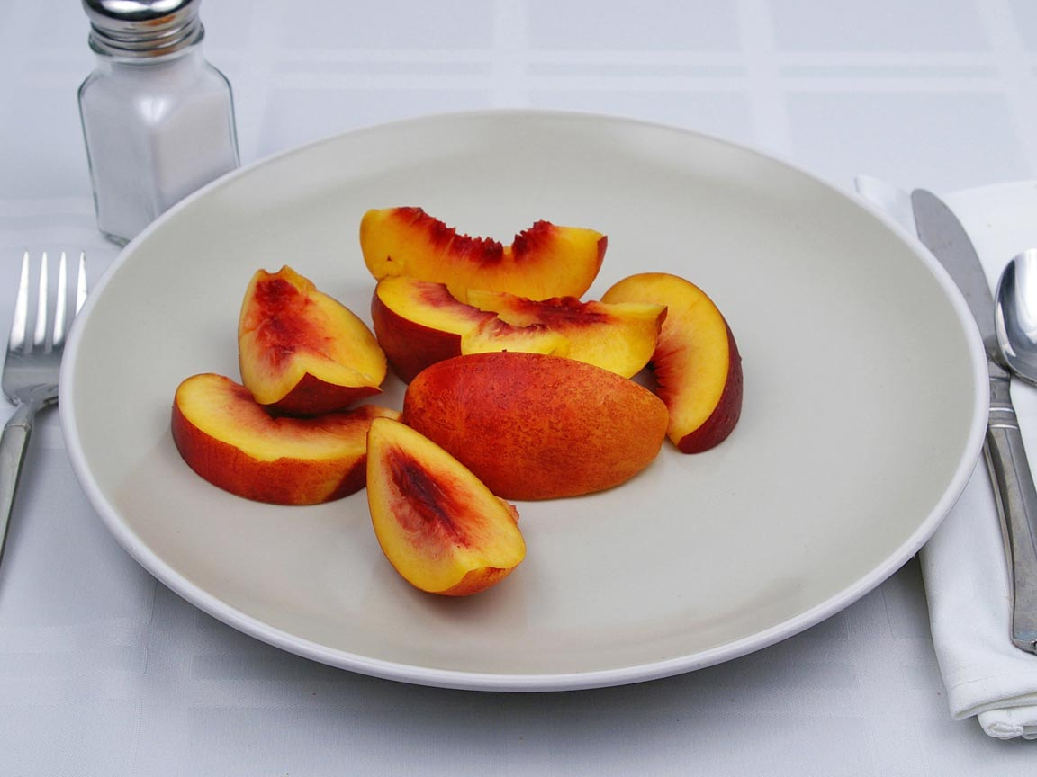 Calories in 1 fruit(s) of Nectarine