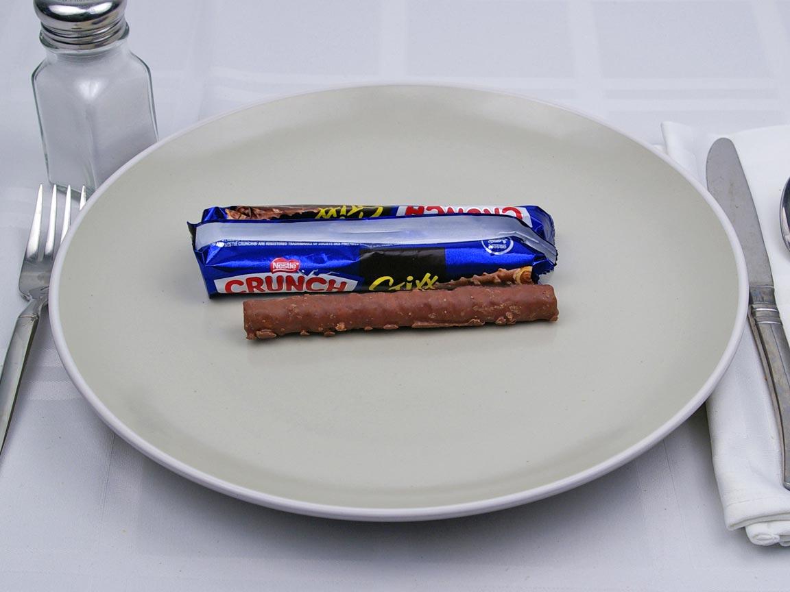 Calories in 3 stick(s) of Crunch Stixx