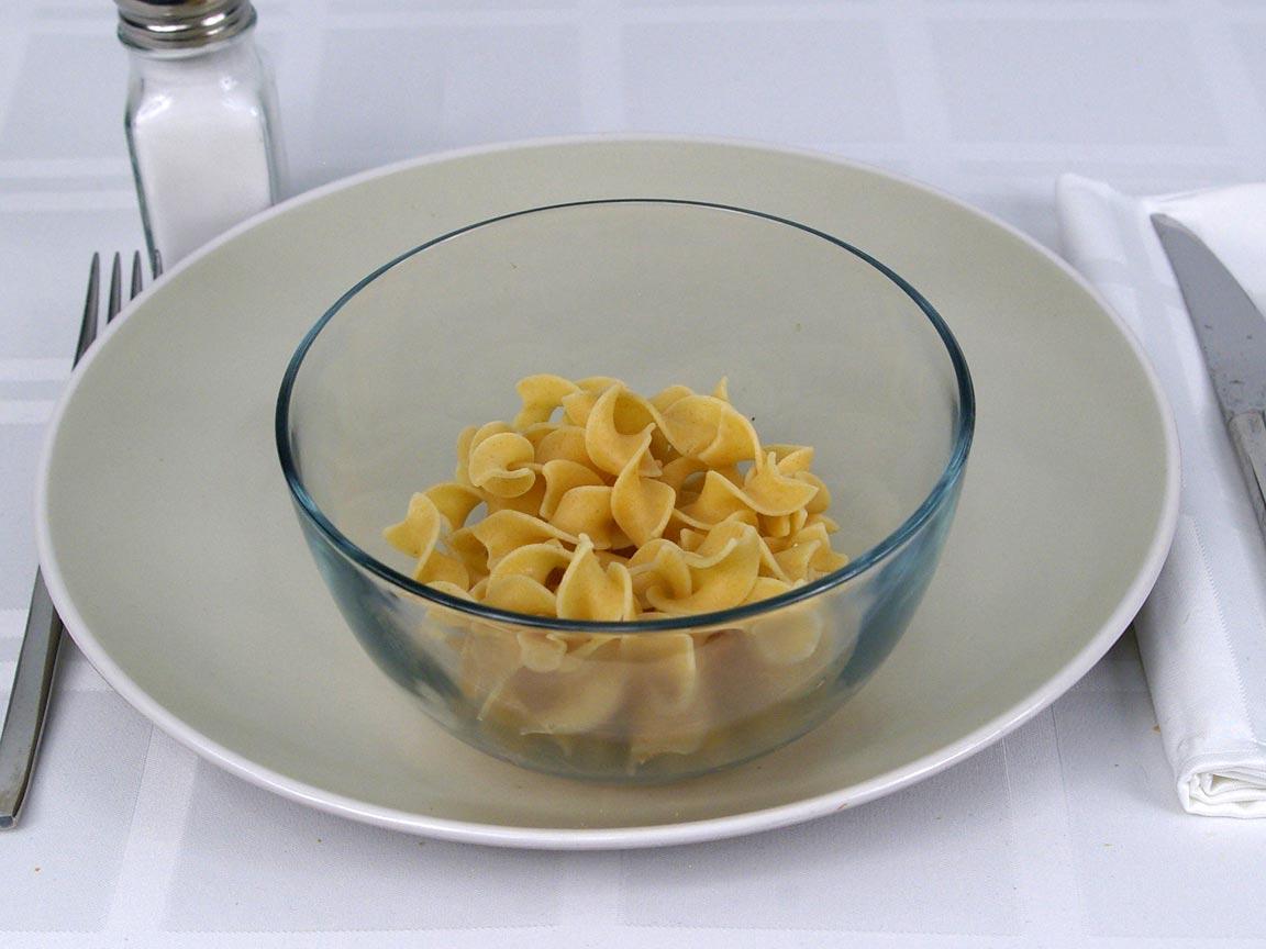 Calories in 113 grams of No Yolks Whole Grain Pasta