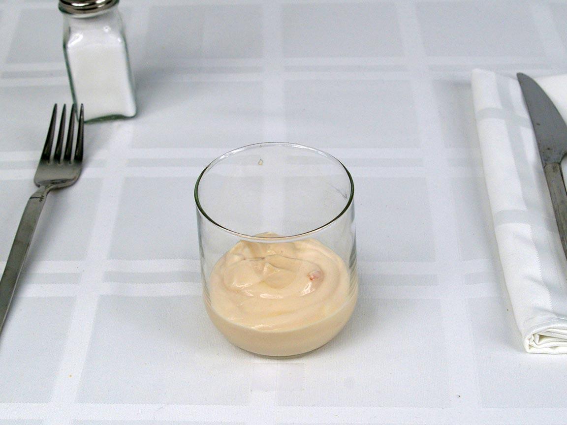 Calories in 0.5 ea(s) of Noosa Yoghurt