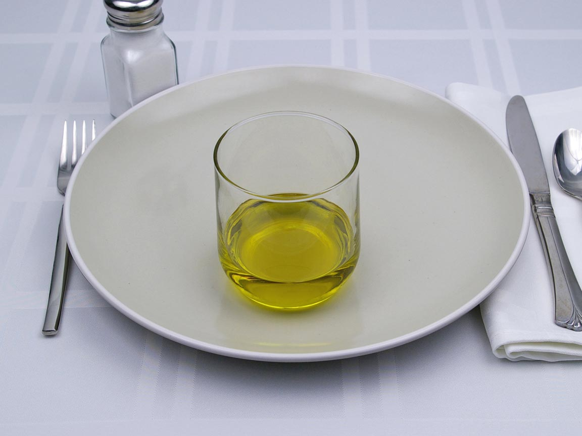 Calories in 6 tbsp(s) of Extra Virgin Olive Oil