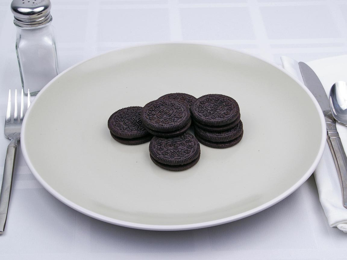 Calories in 6 cookie(s) of Oreo Cookie