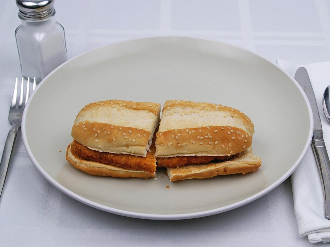 Calories in 1 sandwich(es) of Burger King - Original Chicken Sandwich