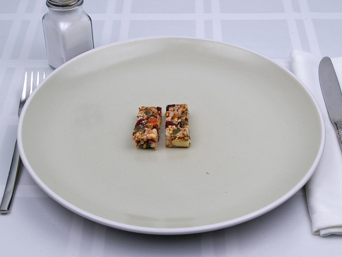 Calories in 0.5 bar(s) of Oskri - Muesli Bar