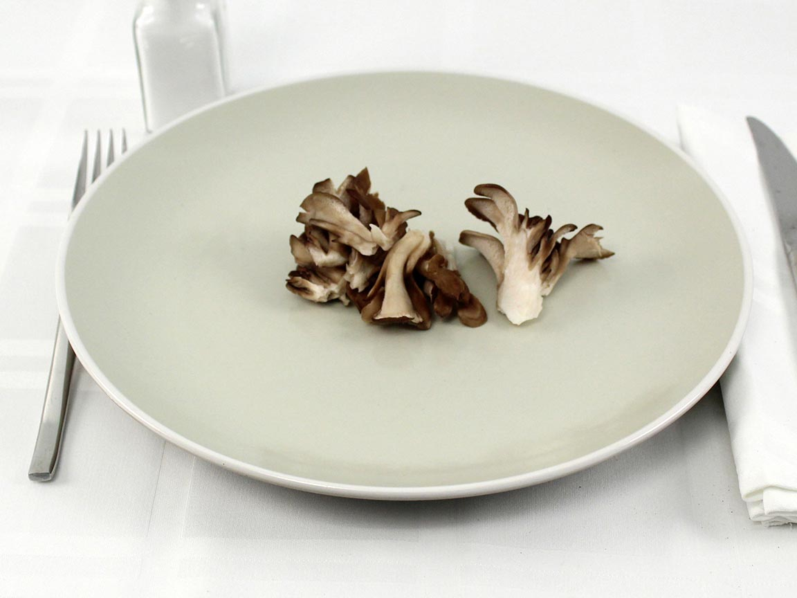 Calories in 30 grams of Oyster Mushrooms