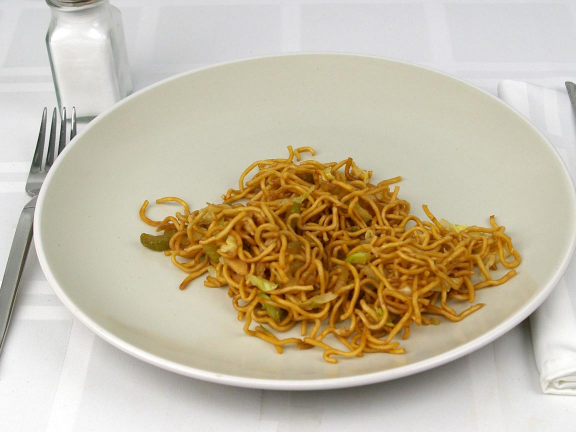 Calories in 85 grams of Chow Mein - Vegetable