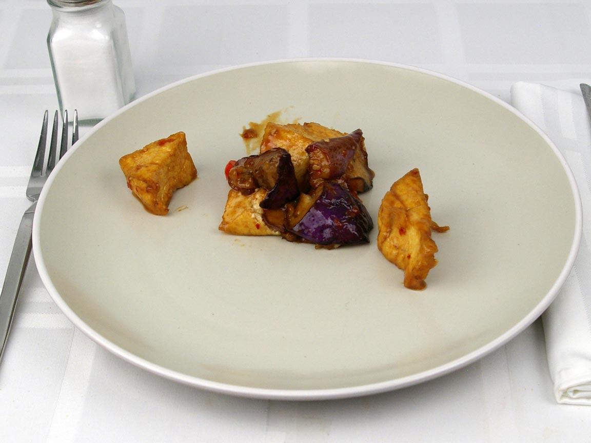 Calories in 113 grams of Panda Express - Eggplant Tofu