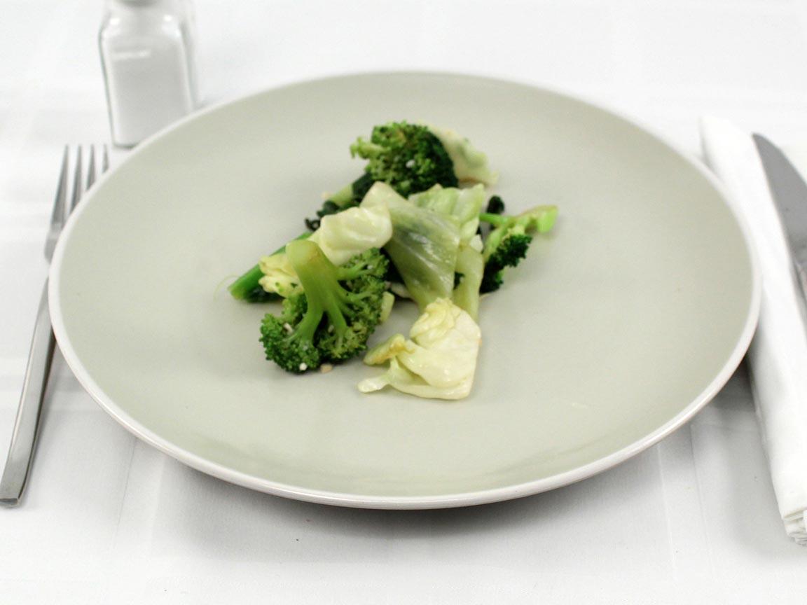 Calories in 0.75 cup(s) of Panda Express Super Greens