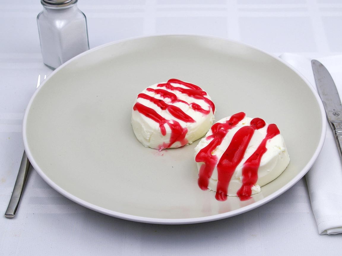 Calories in 2 piece(s) of Panna Cotta