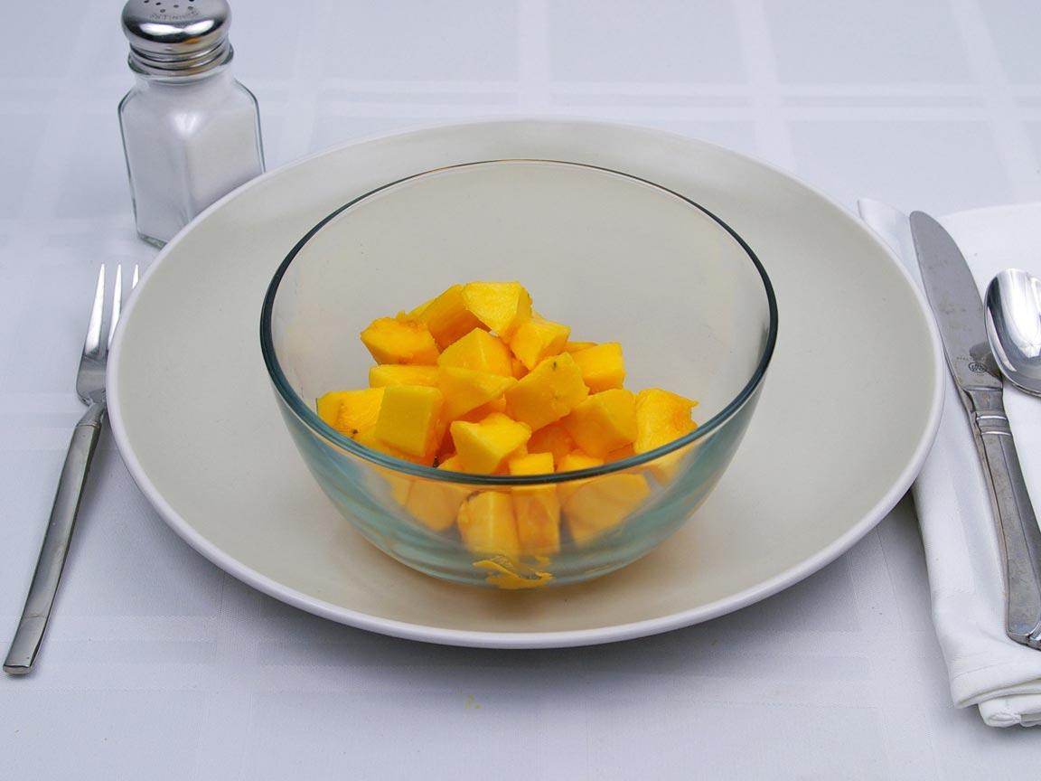 Calories in 340 grams of Papaya - Fresh